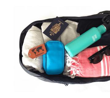 Danielle's Backpack Inside
