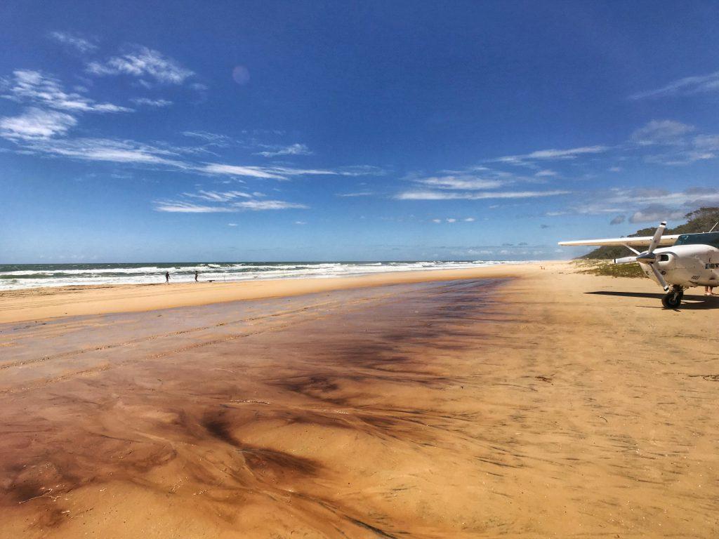 75 Mile Beach Runway on Fraser Island