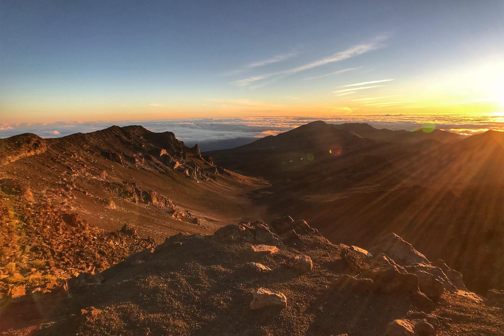 Maui Haleakala Sunrise