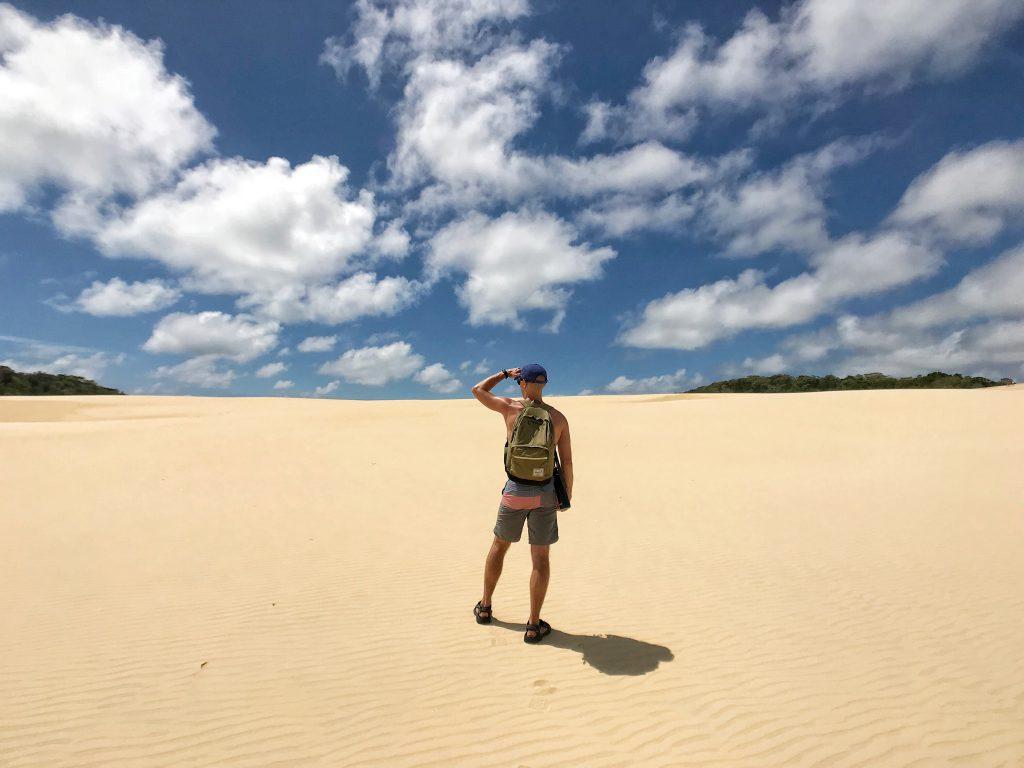 Hammerstone Sandblows on Fraser Island