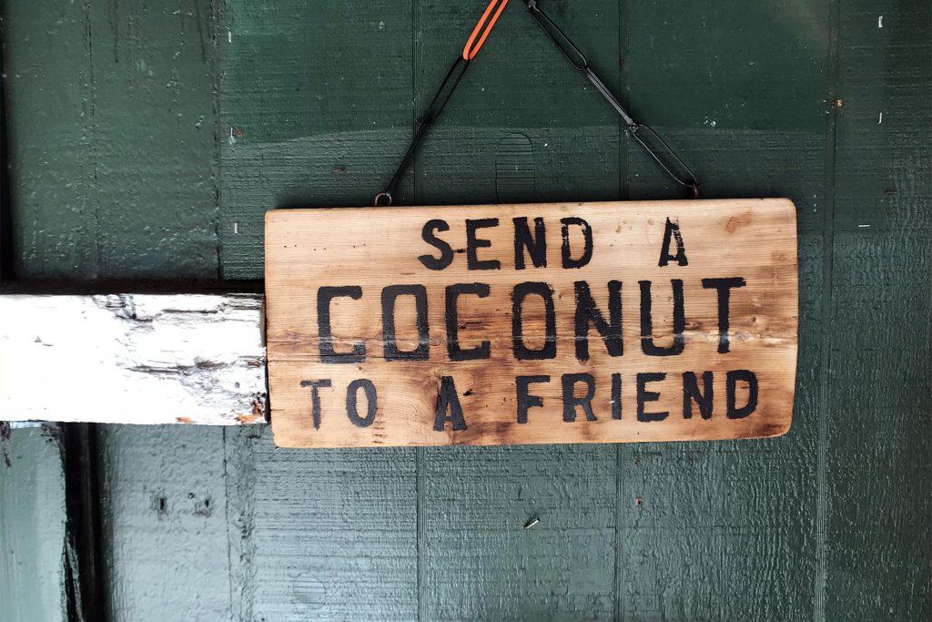 Send a Coconut