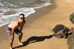Maui Condo Dom with Turtle