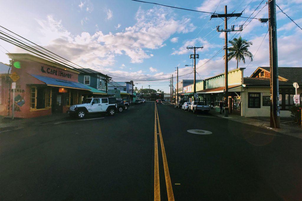 Maui Paia Street View