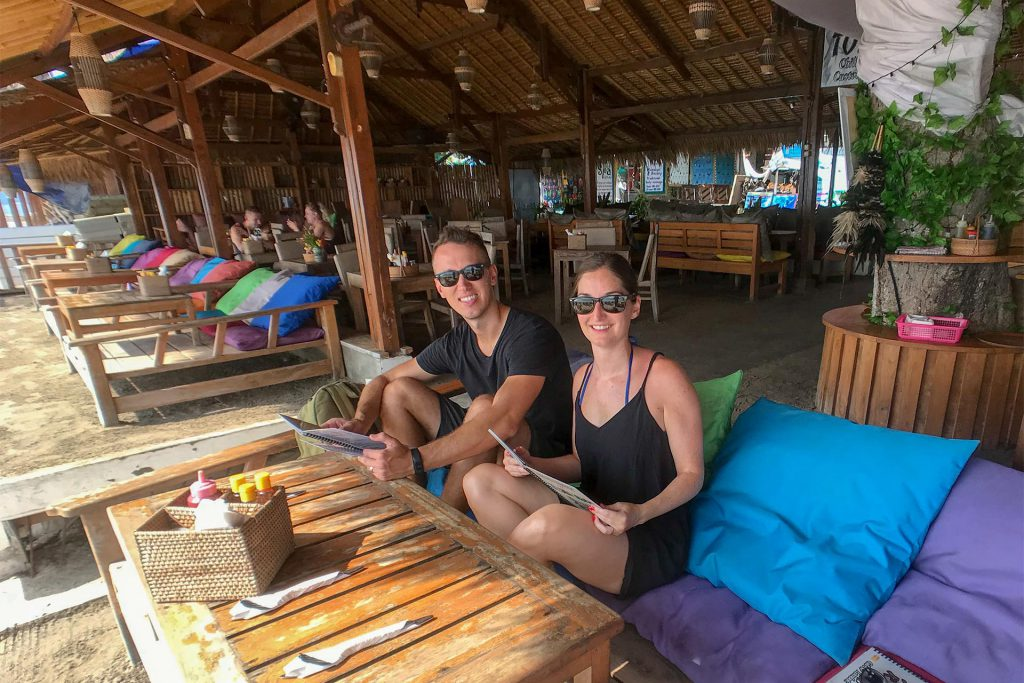 Breakfast at Chill Out Bar & Bungalows