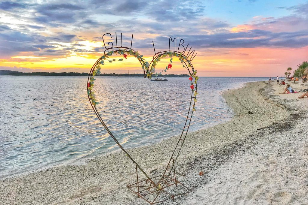 Gili Air Heart
