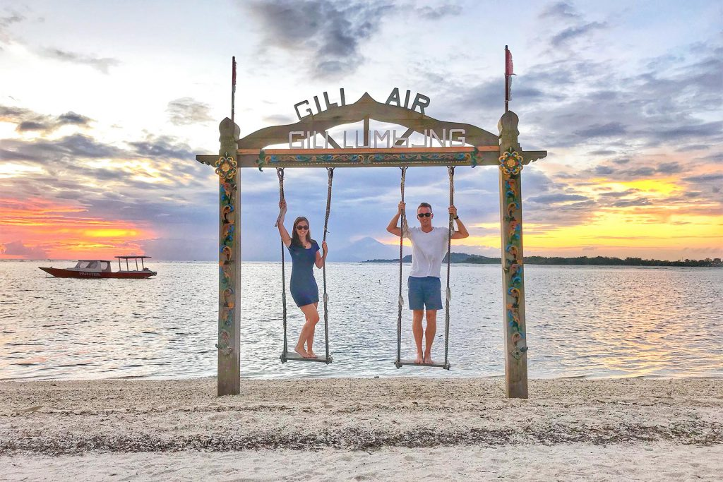 Gili Air Swing at Gili Lumbung