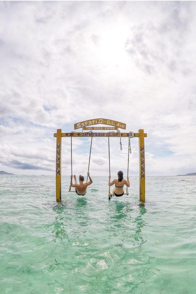 Gili Air Swinging