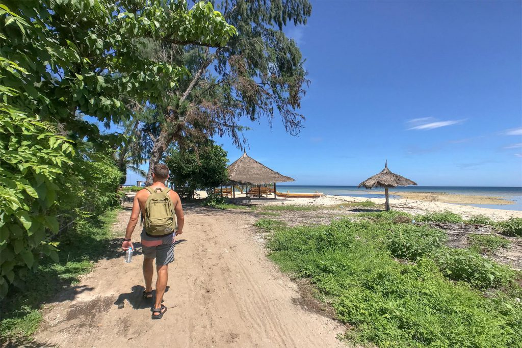 Gili Air Island Walk